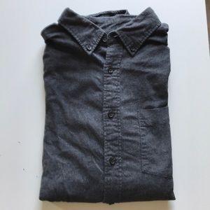 Uniqlo Cotton Flannel, Dark Gray